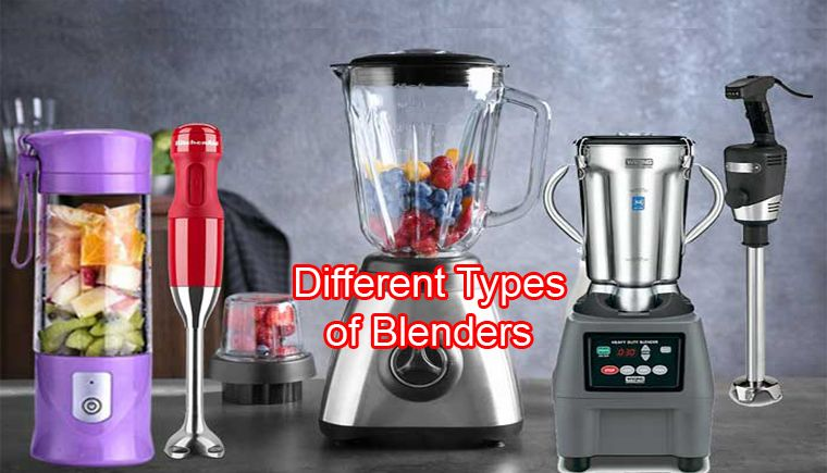 types of blender